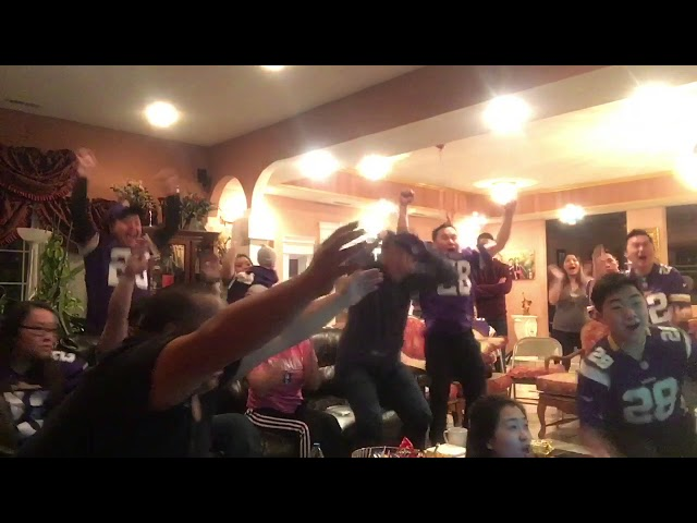 Saints vs Vikings 2018 (Minnesota Vikings  Miracle) Fans Reactions.