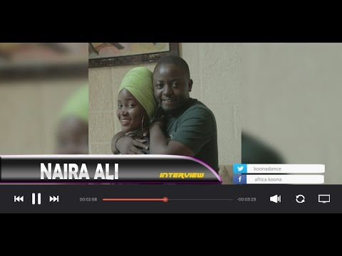 ' AM IN LOVE WITH HIM ANY PROBLEM ' NAIRA ALI LIVE IN KOONA