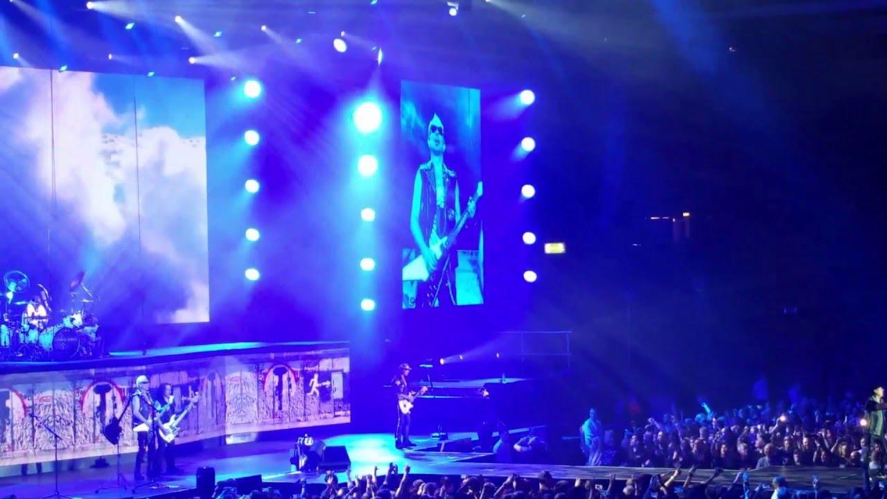 Scorpions - Live in Stuttgart 2016  Send me an Angel,  Wind of Change
