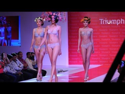 Triumph Lingerie Fashion Show 2014 | Body Make Up Launch