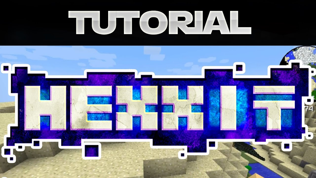 to minecraft how hexxit download and