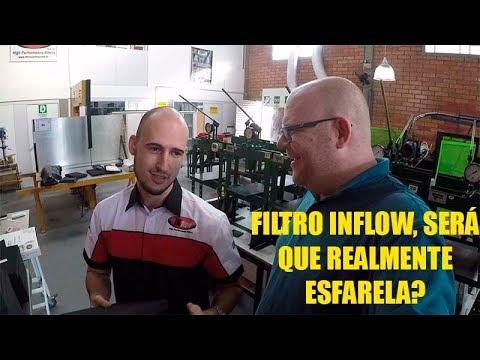 Filtro inflow esfarela: Mito ou verdade?