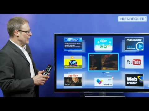 Teil 6/9 - Viera Connect Open Webbrowser - Panasonic VT50-Serie (2012)