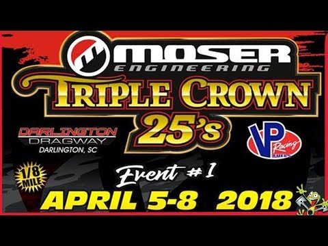 No Limit Promotions Moser Engineering Triple Crown 25's - Saturday/Sunday Combo