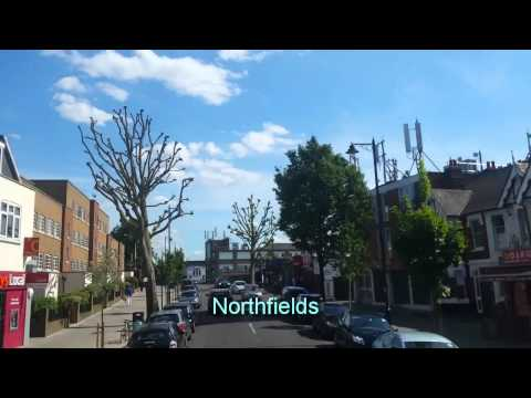 Route E3 HD Full Visual: Greenford Broadway-Chiswick Edensor Road