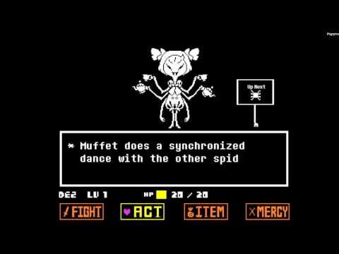Muffet 1st Try/Blind - No Hit - Undertale