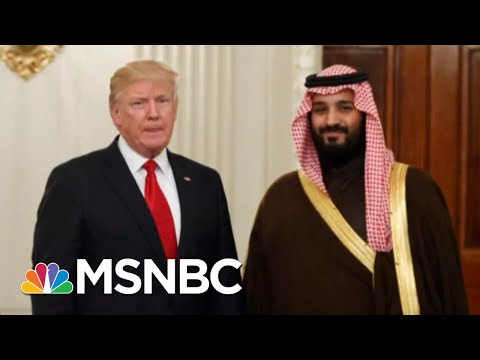 Wash Post: Saudi Lobbyist Paid For 500 Rooms At Trump Hotel | Velshi & Ruhle | MSNBC