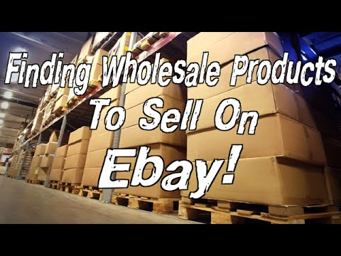 Find wholesale products to sell on ebay easy solution for Easy to make and sell products