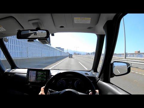 【Test Drive】2020 New NISSAN ROOX HighWaySTAR 4WD 660cc Turbo - POV Drive