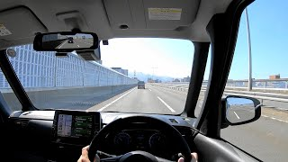 【Test Drive】 2020 New Nissan ROOX HighWaySTAR 4WD 660cc Turbo - POV Drive