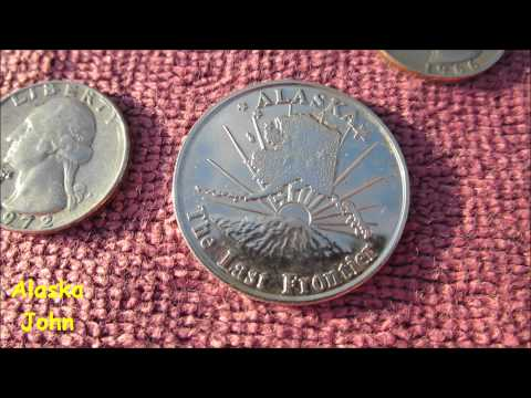 ALASKA METAL DETECTING - Abbott Loop Elementary School
