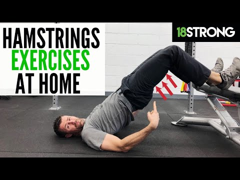 Hamstring Exercises at Home with Very Little Equipment for Golfers