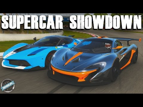 SUPERCAR SHOWDOWN || Ferrari FXXK VS McLaren P1 GTR || Forza 6 w/ AR12