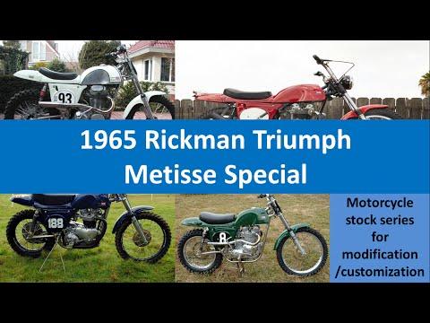 Rickman Triumph Metisse Trail Motorbike