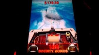 Jaws - Bounty Hunter Slot Machine