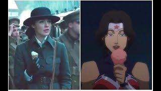 Wonder Woman - ice cream scene (Movie & Anime)