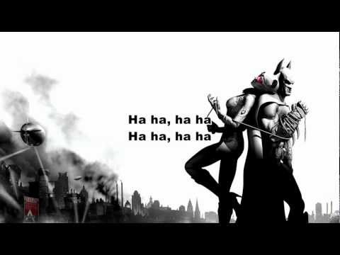 Coheed and Cambria - Deranged (Batman Arkham City) ~ Lyrics on the Screen