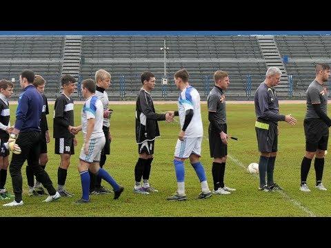В Шадринске состоялось два матча первенства Курганской области по футболу