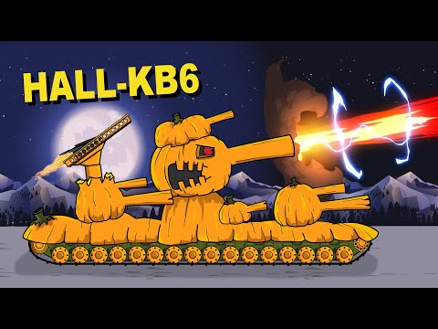 """HALL-KV6 vs Iron Golem"" Cartoons about tanks"