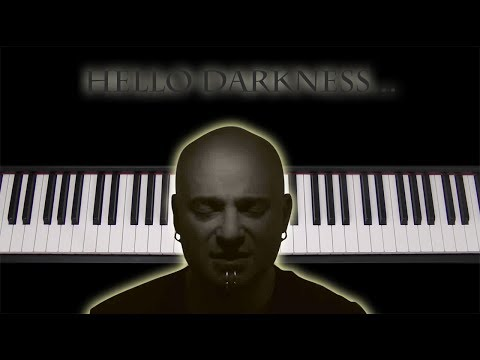 Learn how to play Disturbed: The Sound Of Silence on piano keyboard (Simon & Garfunkel cover)