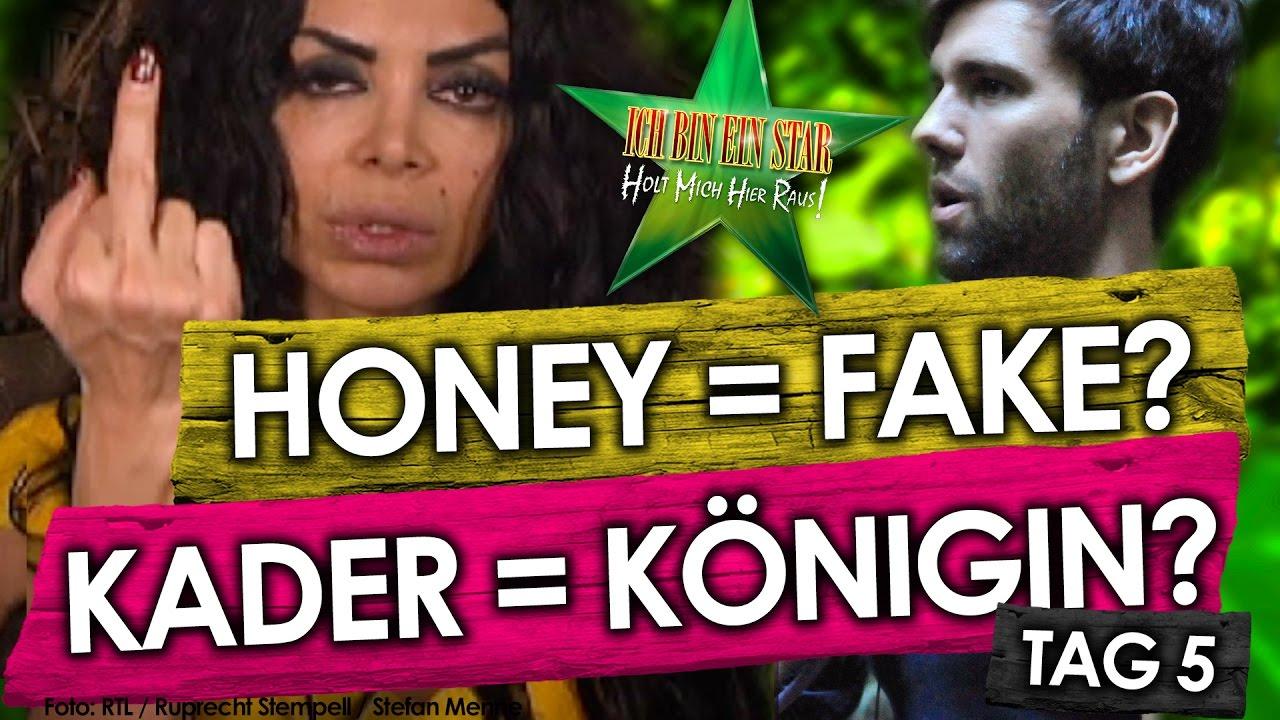 Dschungelcamp 2017 Tag 5 Konigin Kader Psycho Hanka Fake Honey Ich Bin Ein Star Rtl