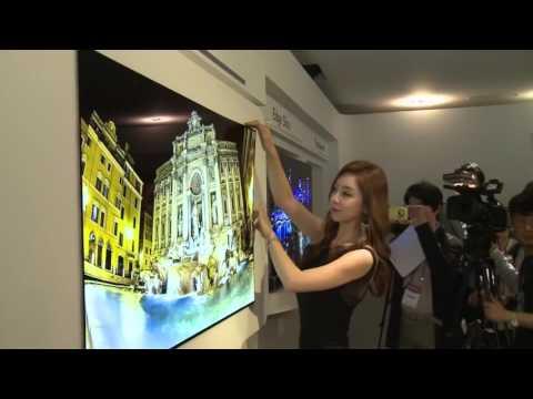 LG's 1mm OLED Wallpaper TV
