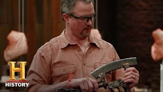 Forged in Fire: Testing Trenton's Axe  (S1, E2) | History
