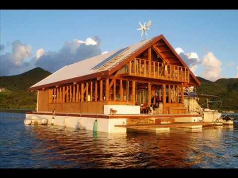 Maison flottante - YouTube