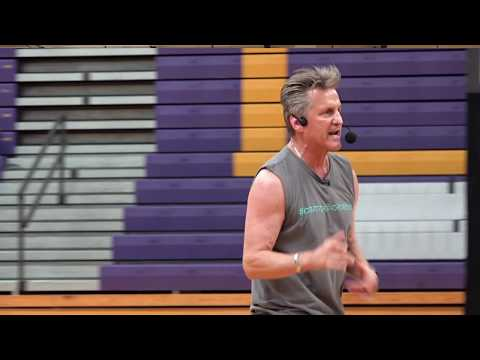 Jerry Trimble Inspires the students at Campbell County Middle School