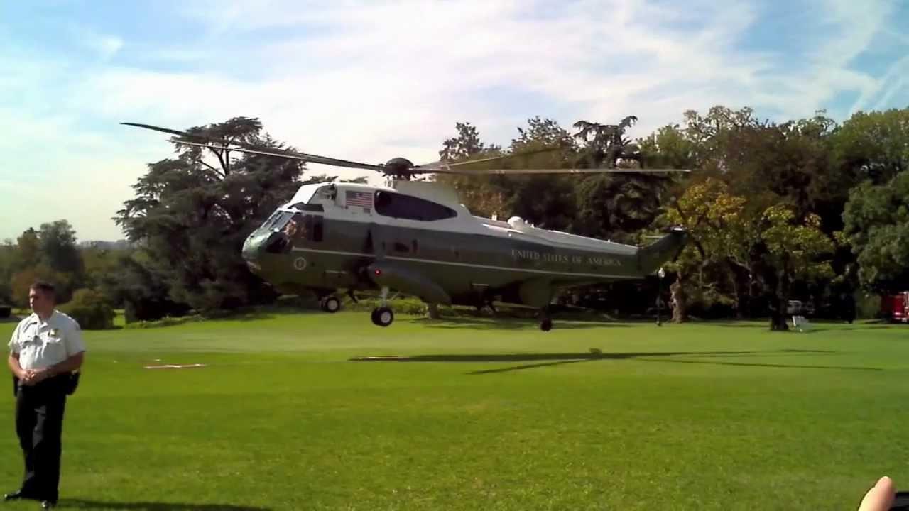 President Obama & Marine One - YouTube