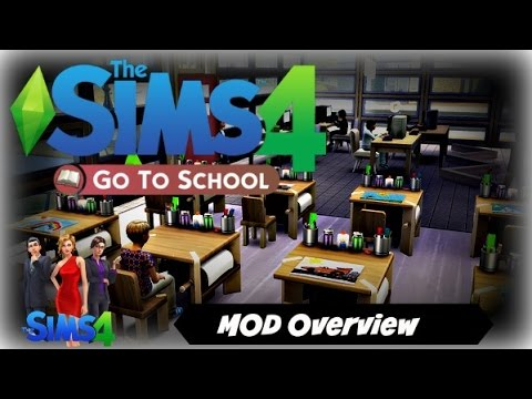 Sims 4 Go To School Mod Download