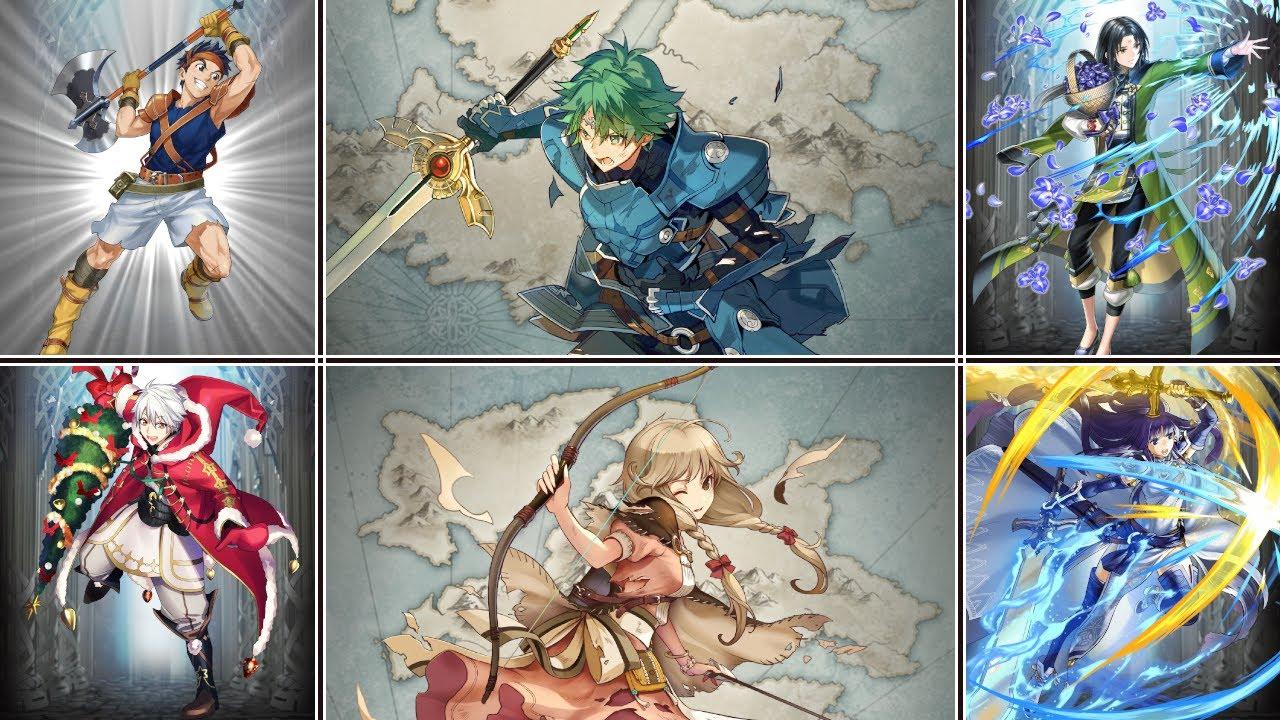 Fire Emblem: Heroes: Bound Hero Battle: Alm & Faye (Hard