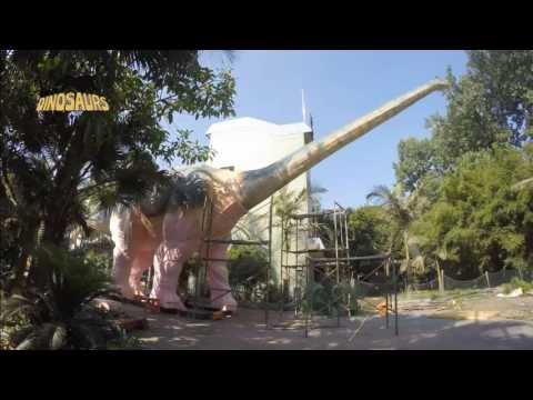 PRODUCTION PROCESS: 30 Meters Long Argentinosaurus
