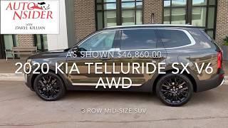 First Drive 2020 Kia Telluride SX V6 AWD
