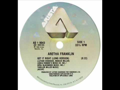 Aretha Franklin - Get It Right (Dj ''S'' Bootleg Remix)