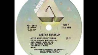Aretha Franklin - Get It Right (Dj