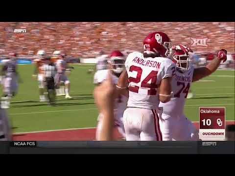Oklahoma vs Texas Football Highlights