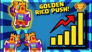 BRAWL STARS LOADED RICO SKIN ( 0 - 150 Trophies Highlights)
