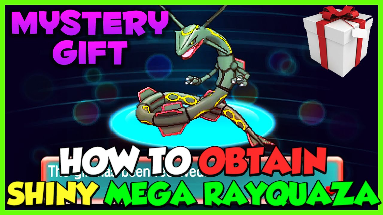 How To Get Shiny Mega Rayquaza Omega Ruby Amp Alpha