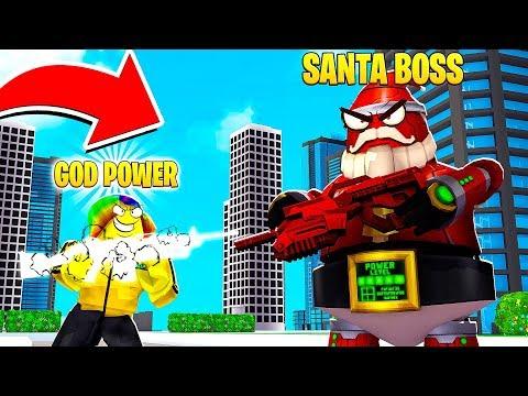 i-got-god-fire-power-to-fight-the-1,000,000,000-power-santa..-(roblox)