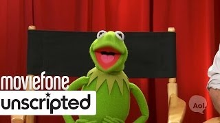 'Muppets Most Wanted' | Unscripted | Tina Fey, Ricky Gervais, Ty Burrell, Miss Piggy, Kermit