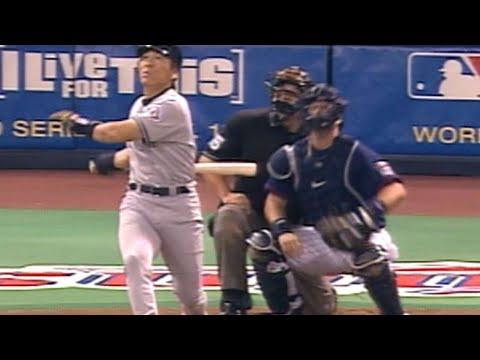 2003 ALDS Gm3: Matsui hits two-run home run in 2nd