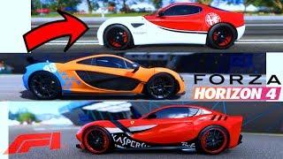 Tutte le AUTO F1 di Nu Macher: La Migliore? - Forza Horizon 4