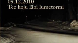 Kodutee lumetormis 2010-12