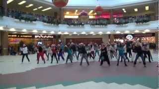 Супер флешмоб в Москве