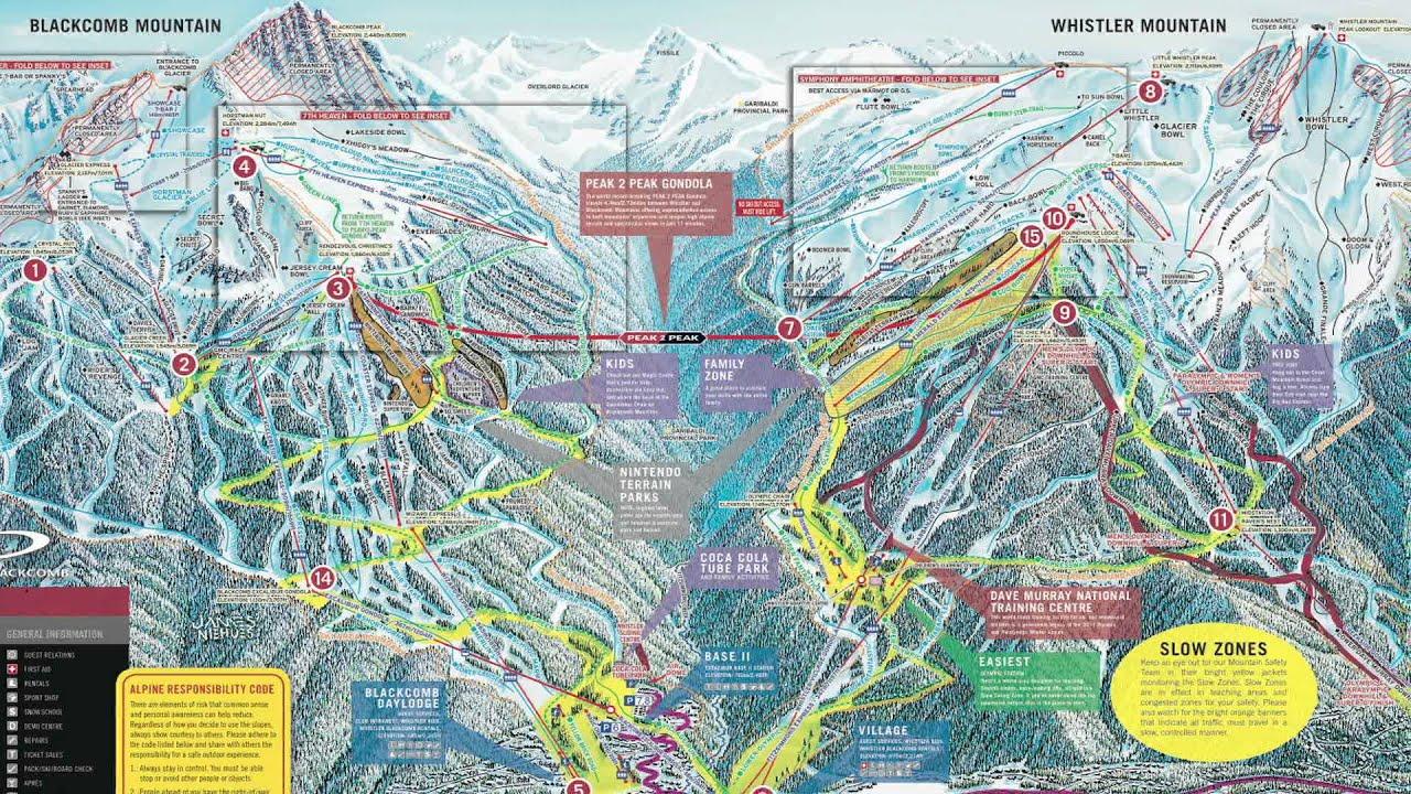 2012 OnTheSnow Visitors' Choice Winner for Best Overall Terrain: Whistler Blackcomb