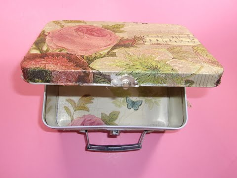 Making a Metal Lunch Box Look Brand New, A Recycling Project