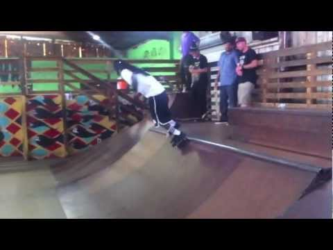 Lil Wayne Skating and SLAMMING hard at the Skatepark of Tampa