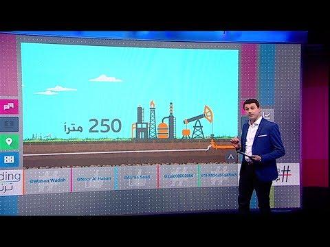 Смотреть عراقي يبتكر طريقة لسرقة النفط الخام من خط أنابيب رئيسي онлайн