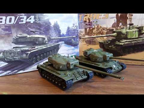 Takom 1/35 T29E3 & T30/T34 kits, Mid-build (pre-weathering) Review